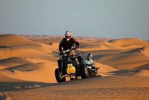Viaje en quad Túnez, 8 días, 5 de conducción.