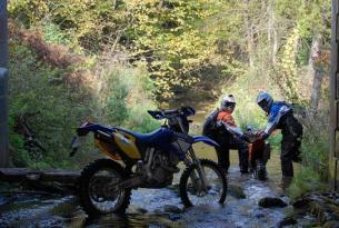 Viaje enduro Lituania, con KTM 450 EXC 7 dias 5 en moto