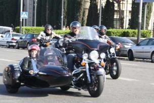 Tour panorámico Barcelona en Harley Sporter o Sidecar 4 horas