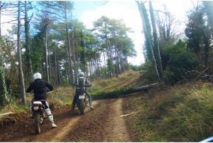 Viaje en moto Baja Aragon 3 dias 2 noches en moto propia (trail)