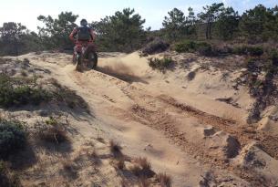 Viaje en moto Algarve, Sur de Portugal en moto enduro o buggy 6 dias 4 en ruta