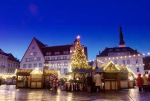 Mercado de Navidad en Tallin
