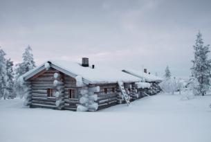 Navidad en Laponia especial familias (actividades en Iso Syöte y visita a Papá Noel en Rovaniemi)