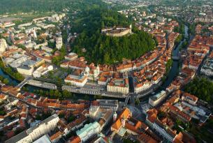 Puente diciembre en Eslovenia desde Madrid
