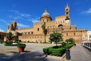 Sicilia y el sur de Italia en grupo con estancia final en Roma