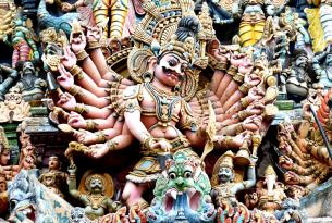 Sur de India en grupo: esencia hindú (salida desde Barcelona)