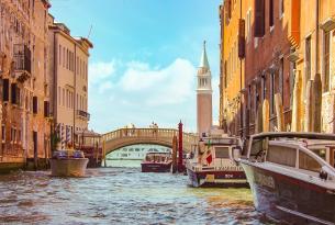 Puente del Pilar en Venecia