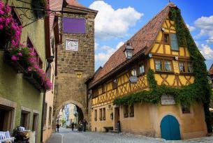 Puente del Pilar en la Alemania más romántica (grupo especial Singles)