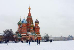 Rusia: de San Petersburgo a Moscú en grupo y en hoteles de 4 estrellas superior