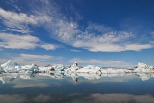 Fin de año en la costa sur de Islandia