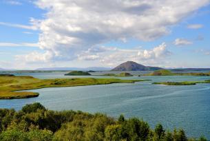 Gran tour por Islandia con excursión de avistamiento de ballenas (11 días desde Madrid)