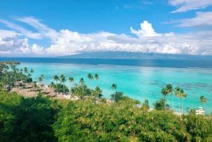 Polinesia: combinado Tahití y Moorea