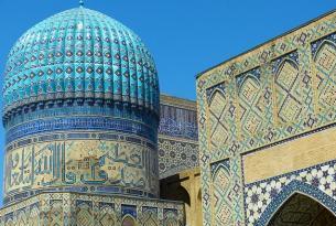 Uzbekistán: Pais de las Cupulas Azules